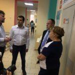 Глава городского округа Реутов посетил с рабочим визитом поликлинику N2