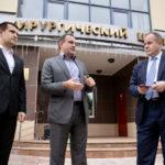 Два автомобиля санитарной помощи вручили городской больнице Реутова