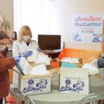 Совет депутатов Реутова передал врачам очередную партию масок и защитных костюмов
