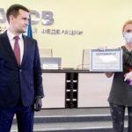 Медиков Реутова наградили в профессиональный праздник
